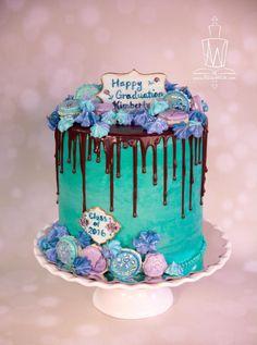 Graduation Drip Cake - Cake by Akiko White