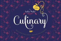 Culinary by Latinotype on @creativemarket