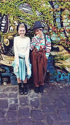 Kazz and Edie | Out and about wearing a mixture of handmade and Vivienne Westwood. | Flickr - Photo Sharing!
