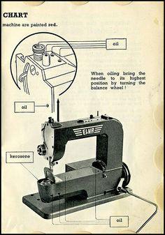 10 best grasshopper images on pinterest antique sewing machines rh pinterest com Elna Brand Elna Supermatic