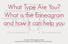 What Type are You? [Enneagrams]
