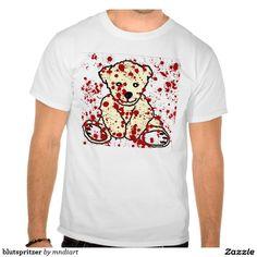 blutspritzer tshirts