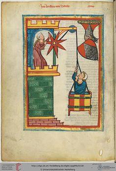 Cod. Pal. germ. 848  Große Heidelberger Liederhandschrift (Codex Manesse)  Zürich, ca. 1300 bis ca. 1340 Folio: 71v