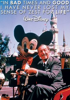 And now a word from Mr. Disney... #WaltWednesdays