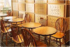 Q-pot CAFE. BisQuit Room