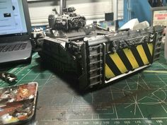 Imperial guard stormlord conversion 40k