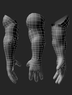 Strong arm topology. Demon-like character tutorial at source. (artist: Dennis Mejillones)
