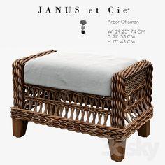 Janus et Cie - ARBOR OTTOMAN