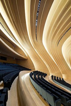 Heydar Aliyev Center, Baku, Azerbaijan by Zaha Hadid Architects