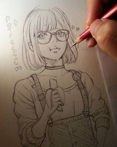 Potassium intake. Traditional quickie. #美少女 #ミスアシスタント #characterdesign #msassistant #漫画 #manga #bishoujo #アシスタント #メガネ #megane