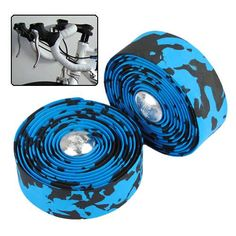 Bike Bicycle Cork Handlebar Tape Wrap With 2 Bar Plug Blue  Worldwide delivery. Original best quality product for 70% of it's real price. Buying this product is extra profitable, because we have good production source. 1 day products dispatch from warehouse. Fast & reliable shipment...