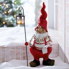 """Weihnachtswichtel """"Knuth"""" mit Laterne bei Gingar"""