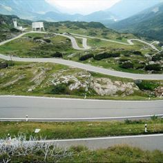 Another high mountain pass across the Swiss Alps is the San Bernardino Pass and…