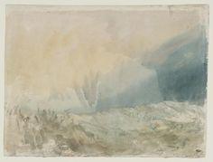 'The Bass Rock', Joseph Mallord William Turner, c.1824 | Tate