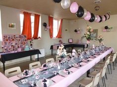 d coration et centre de table paris couleurs noir et rose paris wedding partytablefood