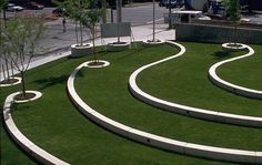 Slope inspiration landscaping design.