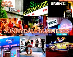 The many businesses of Sunnydale.