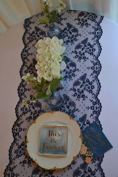 Weddings unique ideas and plans to consider, wedding reference 7085242642 - An amazing and exciting info on inspirations. lace weddings decorations navy blue charming suggestions posted on this date 20181223 Lace Wedding Decorations, Baby Shower Table Decorations, Wedding Ideas, Lace Weddings, Romantic Weddings, Unique Weddings, Navy Lace, Blue Lace, Navy Bridal Shower