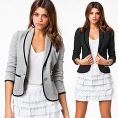 2017 New Spring Women Clothes Women Blazer Long Sleeve Women Blazer Single Breasted Fashion Casual Small Suit  Basic Jacket #Affiliate