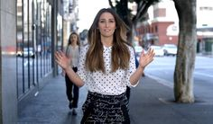 Sara Bareilles- Brave.  I love her hair and outfit but most of all I love the song.