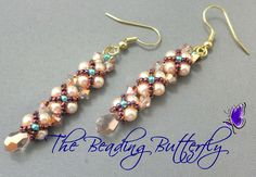 Free+Seed+Bead+Earring+Patterns | The Beading Butterfly Beadwork, works in process, and other stuff ...
