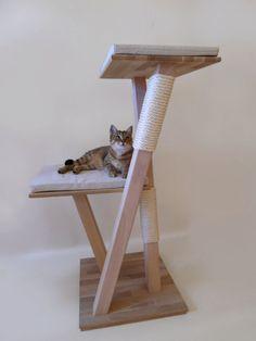 Des arbres à chats design!   http://www.chatperche.fr/fr/21-arbres-a-chat-en-bois-pure-design