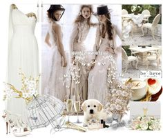"""It's all white!!!"" by thilika on Polyvore"