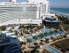 Fontainebleau Miami Beach. My favorite hotel.