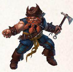 Pirate dwarf