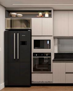Kitchen Room Design, Kitchen Cabinet Design, Modern Kitchen Design, Kitchen Layout, Home Decor Kitchen, Interior Design Kitchen, Home Kitchens, Diy Kitchen Storage, Kitchen Modular