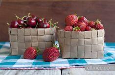 Upcycled Fruit Basket
