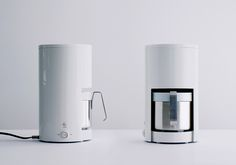Coffee maker by industrial facility