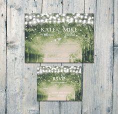 Printed Card Digital Printable Files by WeddingSundaeStudio