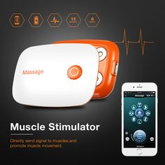 Smart APP EMS Stimulator Trainer Massage Pain Relief Abs Body Shape Muscle Fitness Equipment Fitness Equipment, No Equipment Workout, Sports Glasses, Wellness Fitness, Muscle Fitness, Water Sports, Body Shapes, Pain Relief, Ems