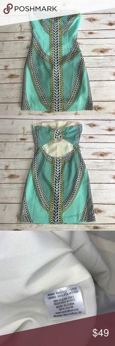 Mara Hoffman strapless dress Excellent condition! Mara Hoffman Dresses Strapless