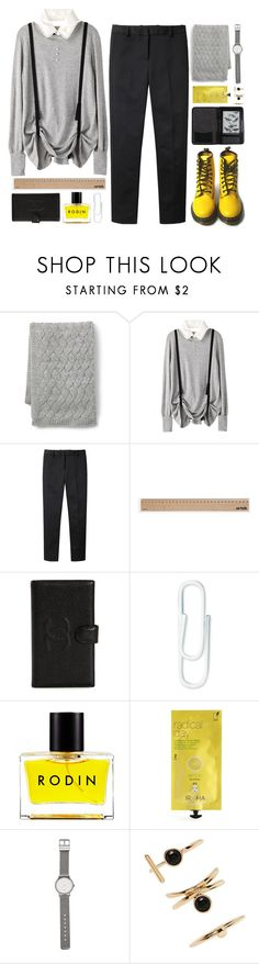 """""""what book are you currently reading?"""" by la-lunar-eclipse ❤ liked on Polyvore featuring Lands' End, 3.1 Phillip Lim, Dr. Martens, Artek, Chanel, Rodin, Iroha, Witchery, Forever 21 and Cole Haan"""