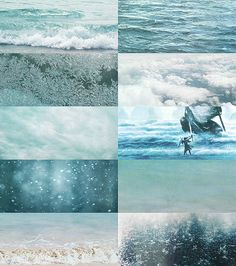 """"""" And it is said by the Eldar that in water there lives yet the echo of the Music of the Ainur more than in any substance else that is in this Earth; and many of the Children of Ilúvatar hearken still unsated to the voices of the Sea, and yet know not for what they listen."""""""