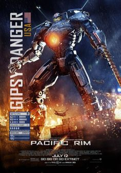 Pacific Rim - Gypsy Danger - USA I loved this movie!! It contained elements of anime, classic action movie stuff, and great references to other nerdy awesomeness!!