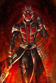 Kamen Rider Wizard by zamboze.deviantart.com on @deviantART