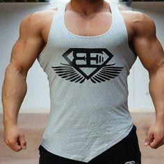 Vest Men Bodybuilding Tank Top
