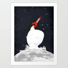 Destination+Moon+Art+Print+by+Calvin+Wu+-+$19.76
