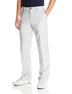 adidas Golf Mens Climalite 3Stripes Tech Pant Light Onix 3634Inch ** Want additional info? Click on the image. Note:It is Affiliate Link to Amazon.