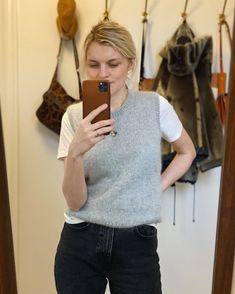 Ravelry: Stockholm Slipover pattern by PetiteKnit Stockholm, Tweed, Raglan Pullover, Knit Vest Pattern, Bind Off, Knit In The Round, Summer Cardigan, Work Tops, Stockinette