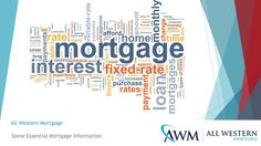 In the simplest of terms, a mortgage is a loan that has been taken to buy a land or a property. Most people take a mortgage loan for 30 years, but the duration can be shorter or longer depending upon their financial situation and requirements. Adjustable Rate Mortgage, Fixed Rate Mortgage, Lending Company, Online Mortgage, Lead Generation, Home Buying, Presentation, How To Apply