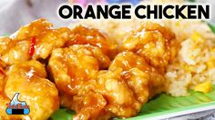 Chicken A L'orange Recipes : Easy Orange Chicken Recipe (Better Than Panda Express!) - Chicken A L'orange Recipes Video Chicken A L'orange Recipes I admit it. I'm addicted to the Orange Chicken from Panda Express and it's literally the first Chinese Orange Chicken, Easy Orange Chicken, Orange Chicken Crock Pot, Chicken Cauliflower, Cauliflower Recipes, Orange Recipes, Asian Recipes, Sushi Recipes, Kitchens