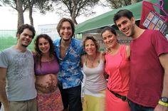 Nuestro maravilloso equipo ifeel maps disfrutando del Festival BioRitmo y sus actividades.