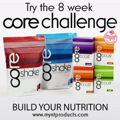 Build Your Mynt Business Using The 8 Week CORE Challenge – The 8 Week CORE Challenge is one of the best ways to build your Mynt business. With 1 in 3 adults as being considered obese, the fitness movement is even more prevalent in today's market. People are looking for the solution to get into shape. Well, you have the answer with the 8 Week CORE Challenge. It's a simple to use program that is easy to follow, while getting quick results. As a Mynt Brand Promoter, you can offer this...