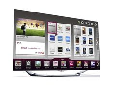 久しぶりにデザインがかっこいいテレビ発見。すげー。LG LA8600 Series