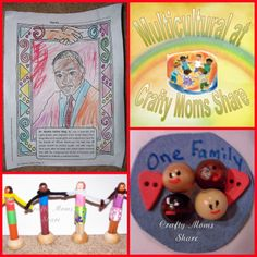 Martin Luther King, Jr. Day: Books and Crafts (from Crafty Moms Share)