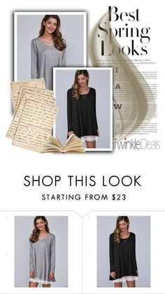"""""""Best spring look"""" by mezzy-military ❤ liked on Polyvore featuring H&M and Cultura"""